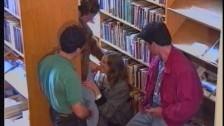 Studenti se fut in biblioteca fara jena