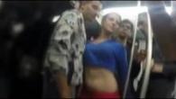 O panarama se fute intr-un tren plin de pasageri