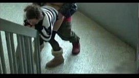 Eleva fututa pe coridor in timpul orelor