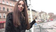 Rusoaica matura agatata in public si fututa cu 100 euro